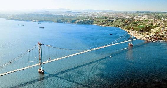 japan s ihi completes world s 4th longest suspension bridge inturkey