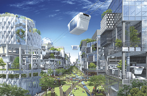 invention city of the future