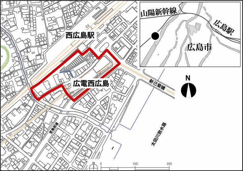 西 広島 駅