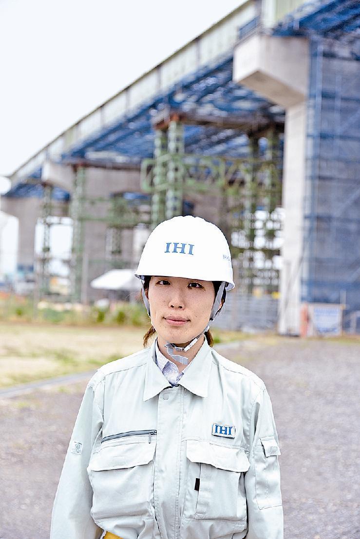 凜/IHIインフラシステム堺工場製造部・中村詩織さん/チャレンジ ...