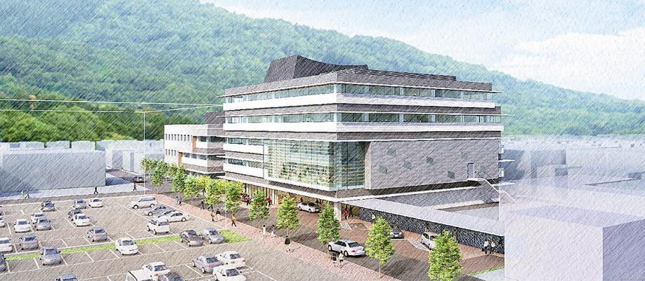 徳島県三好市/市役所本庁舎等設計/久米設計JVに | 日刊建設工業新聞